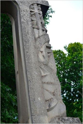 Надгробок Кароля Скібінського на Личаківському цвинтарі (Фото Тетяна Жернова 2016р)