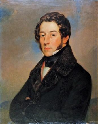 "Алоїзій Рейхан ""Портрет Юзефа Райса"" 1835"