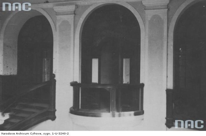 Палац Потоцьких (Вишневецьких) в Кристинополі. Фото 1918-1939 рр.