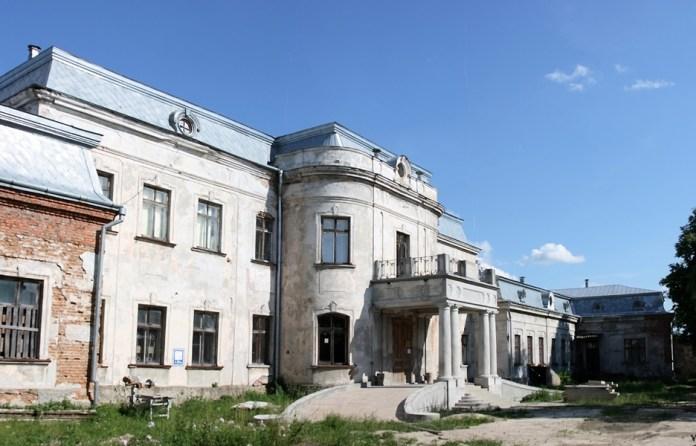 Сучасний вигляд палацу в Червонограді