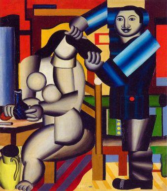Генріх Штренг (Марк Влодарський), Перукар, 1925р. Папір, олівець