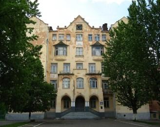 Школа до реставрації 2008 року