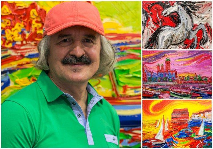 У Львові відкрилася виставка живопису Михайла Демцю
