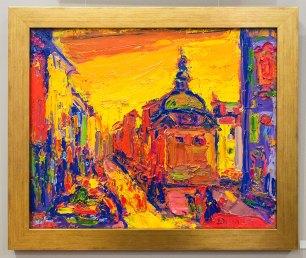 Експозиція виставки живопису Михайла Демцю