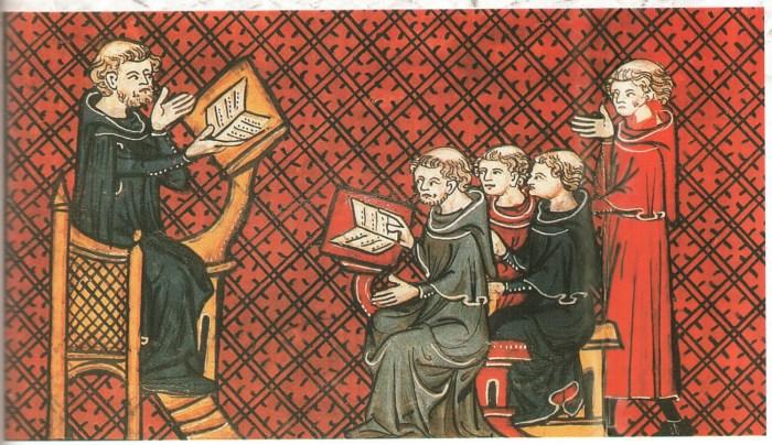 Умовне зображення навчального процесу в минулі століття. Фото з orsha.eu