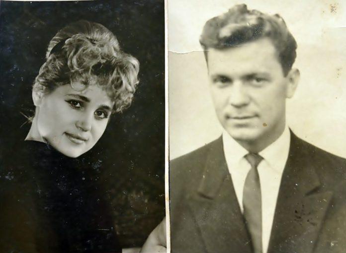 Роланд Франко разом з дружиною Аллою в молоді роки (фото – сімейний архів)