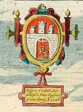 Міський герб на малюнку Пассароті