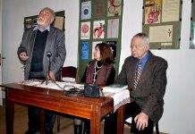 21 листопада 2011 р. Зустріч у Музеї-садибі родини Антоничів з поетами Дмитром Павличком і Романом Лубківським