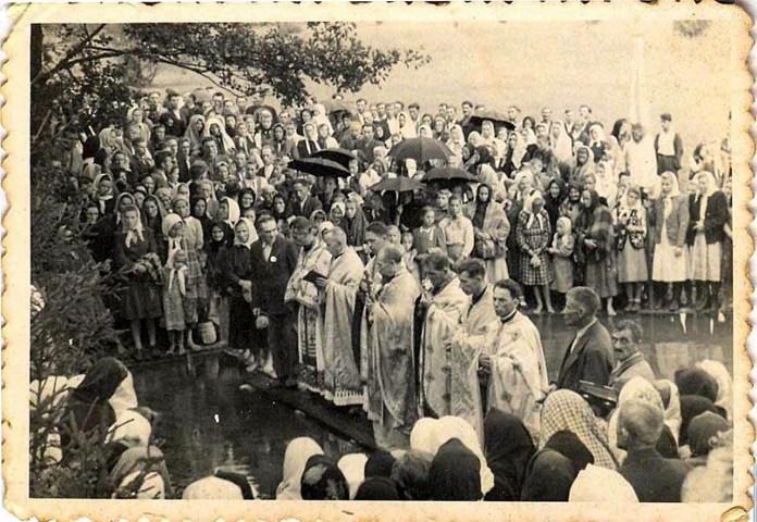 Новосілка. Храмовий празник. 30-ті роки XX ст.