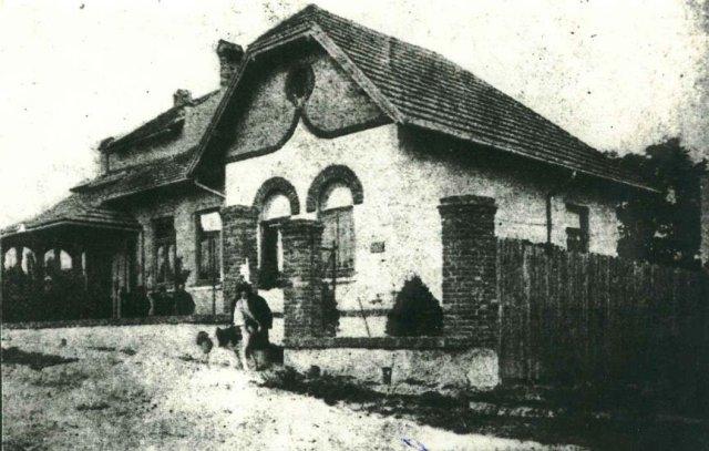 Вілла письменниці «Скіз» у 1900 році