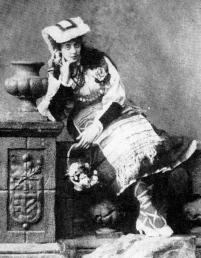 Габріеля Запольська, фото 1891 року