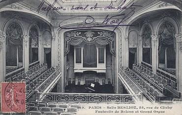 Паризький Théâtre de L'Oeuvre у 1907 році
