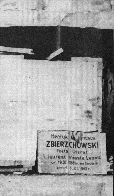 Могила Генрика Збєжховського у Криниці