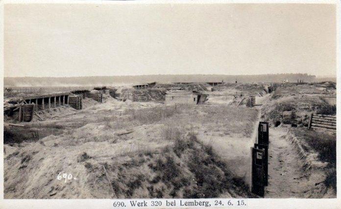 Австрійський форт № Х (Rzensna 320, Werk 320) біля с. Рясна Польська