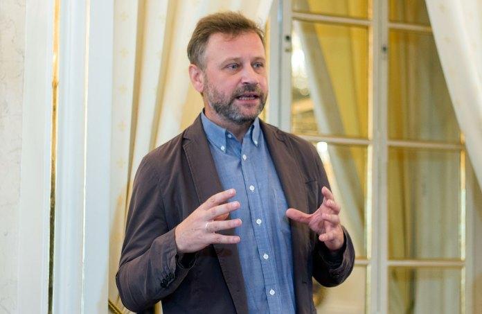 Голова Львівської обласної організації «Українського товариства охорони пам'яток культури» Андрій Салюк