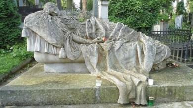 Могила Марковських на Личаківському цвинтарі, авторство Люни Дрекслер