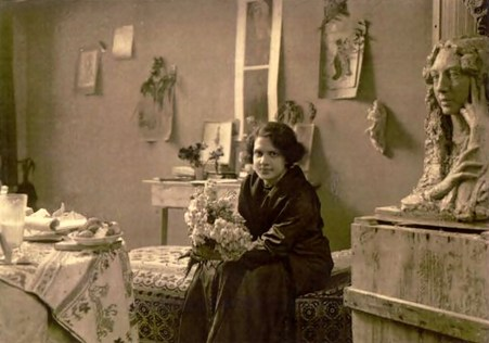 Люна Дрекслер у 1912 році, Мюнхен
