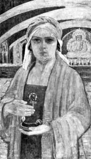 «Автопортрет», 1908 рік, Львівська галерея мистецтв