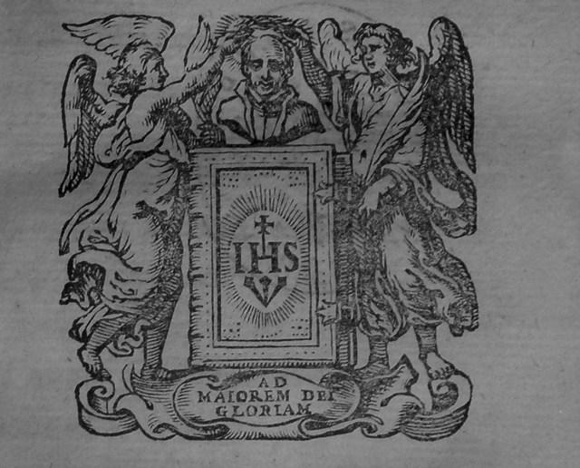 """Символ з """"Ratio Studiorum"""" єзуїтів. Фото з library.lnu.edu.ua"""