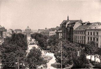 Гетьманські вали у 1925 році. Фото Марека Мюнца