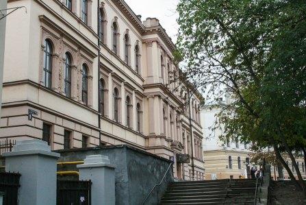 Колишнє приміщення хімічної лабораторії, тепер – один з корпусів «Львівської політехніки». Фото: Анастасія Нерознак