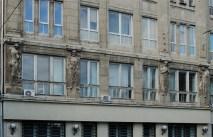 Фрагмент будівлі по вулиці Валовій. Львівський банк. Фото: Ксенія Янко