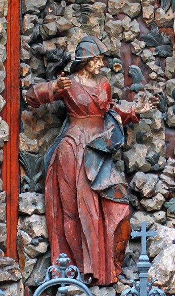 Сучасний вигляд фігури Матері Божої. Фото - Ольга-Марія Коханевич, жовтень 2016 року