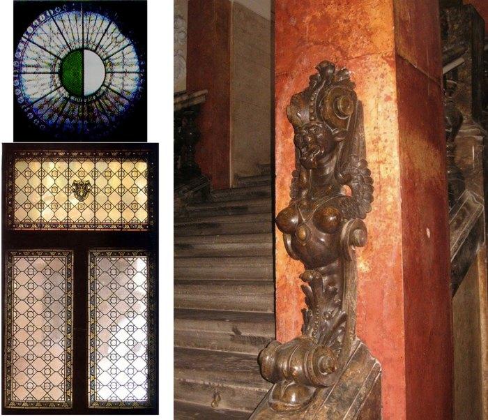 В інтер'єрі музею етнографії та художнього промислу НаН України: вікна, сходи.