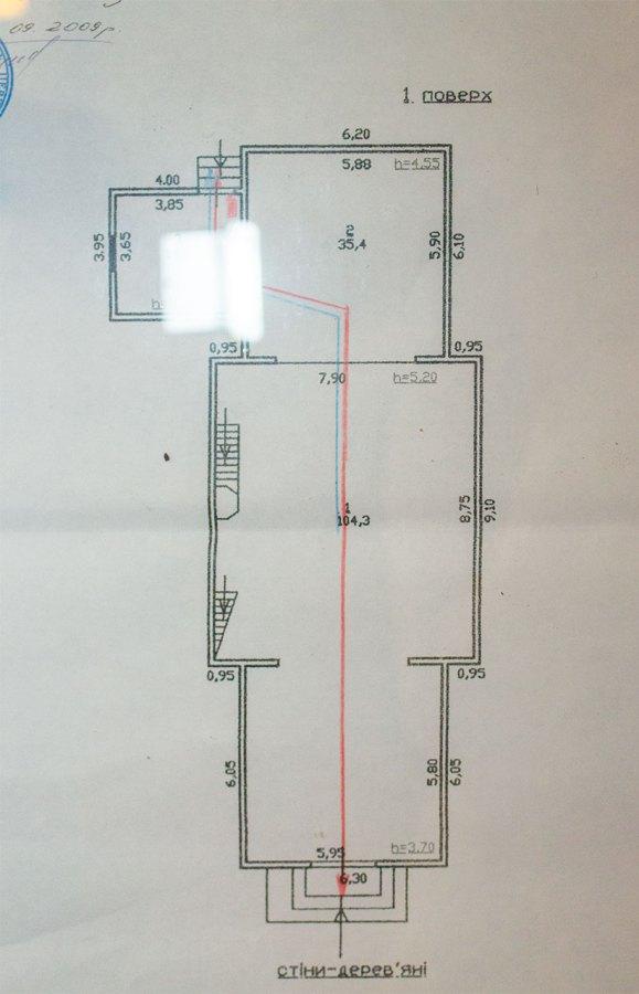 План церкви Св. Миколи в Любіні Великому, 2016 р.