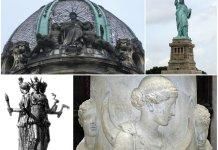 """""""Свобода», «Ощадність» - а може Ізіда чи Геката. То ж кого зображено на колишньому приміщенні Галицької ощадної каси?"""
