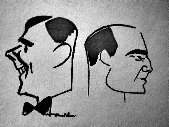 Карикатура на Тонька і Щепка / https://upload.wikimedia.org/wikipedia/uk/thumb/