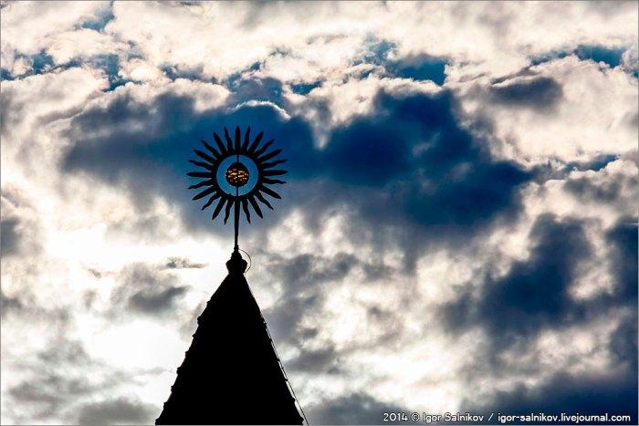 Львів, дах Глинянської вежі (фрагмент)