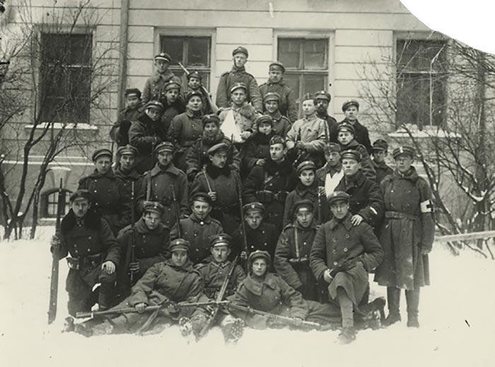 1918 року, Львів польсько-українська війна, оборона Львова - солдати штурмової компанії