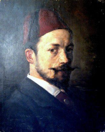Портрет Войцеха Грабовського, 1882 рік. Автор – Константин Маньковський