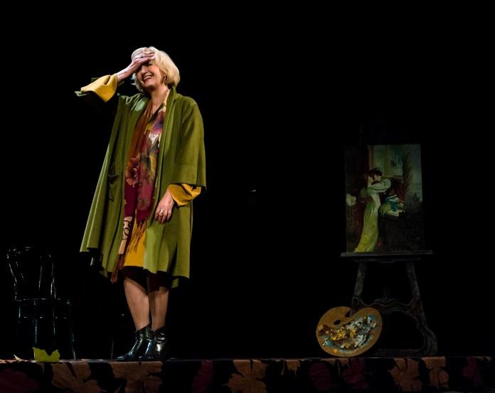 Фрагмент вистави «Ромео і Джульєтта в кінці листопада». Фото: Ксенія Янко