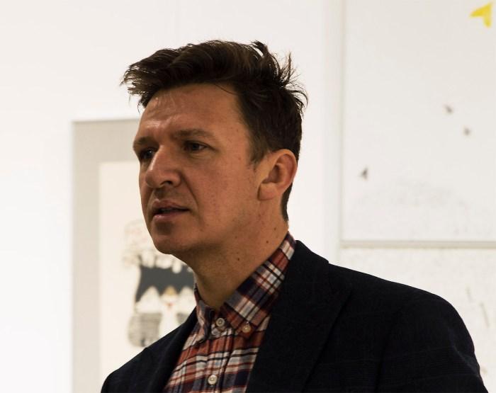 Директор Львівського палацу мистецтв Юрій Гнатковський. Фото: Ксенія Янко