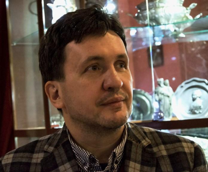 Заступник директора з музейної роботи Музею етнографії та художнього промислу Андрій Клімашевський. Фото: Ксенія Янко