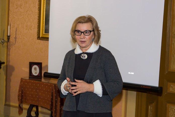 Директор Літературно-меморіального музею Михайла Булгакова в місті Київ Людмила Губіанурі