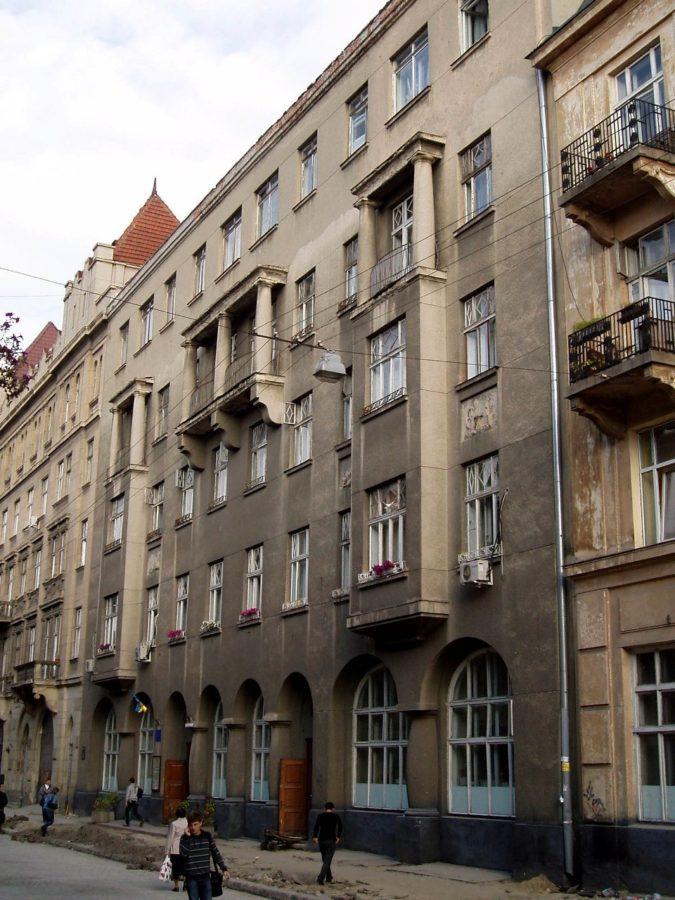 Будинок Товариства приватних урядовців на вул. Пекарській №1а