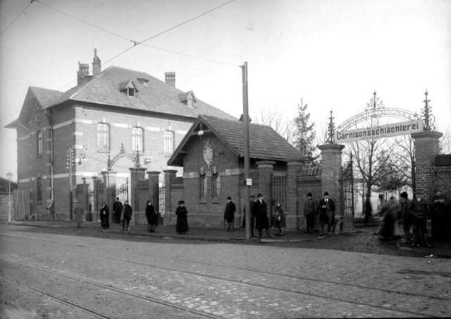 Львівська міська бійня на вул. Промисловій №54, 1920-ті рр.