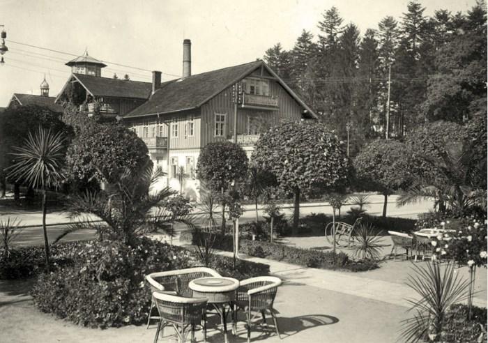 Літнє кафе Товариського закладу, 1930-і