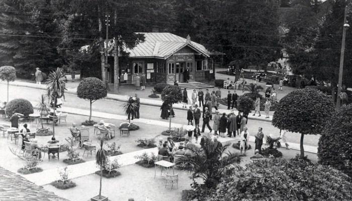 Відкрите кафе Товариського закладу, 1930-і