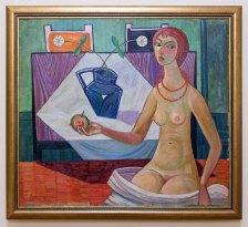 Мирон Левицький. Єва. 1954 рік, полотно, олія