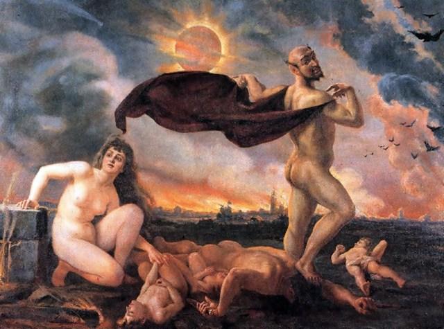 П'ята картина циклу «Тріумф Сатани»