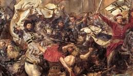Фрагмент картини Яна Матейка «Грюнвальдська битва» (1875-1878 рр.)