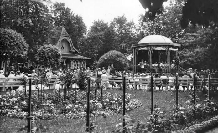 Нижня тераса курортного парку, поч. ХХ ст.