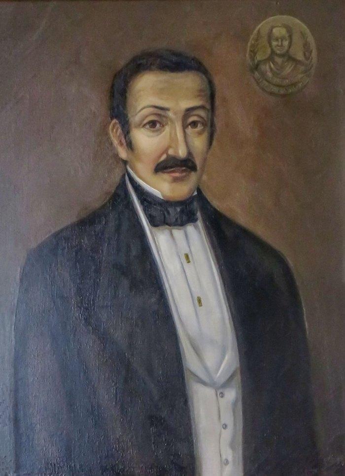 Портрет Теодора Торосевича, автор Ф.С. Шахвердов-Крохмаль, Львів, 1993 (зберігається в музеї міста-курорту Трускавця)