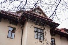Елементи архітектури будівлі бурси Руського педагогічного товариства. Фото: Анастасія Нерознак