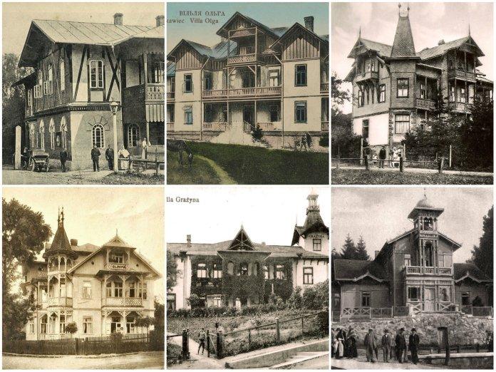 Архітектурний колорит Трускавця, або розкішні вілли курорту на зламі ХХ століття