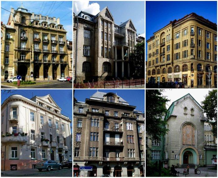 11 архітектурних проектів Юзефа Пйонтковського